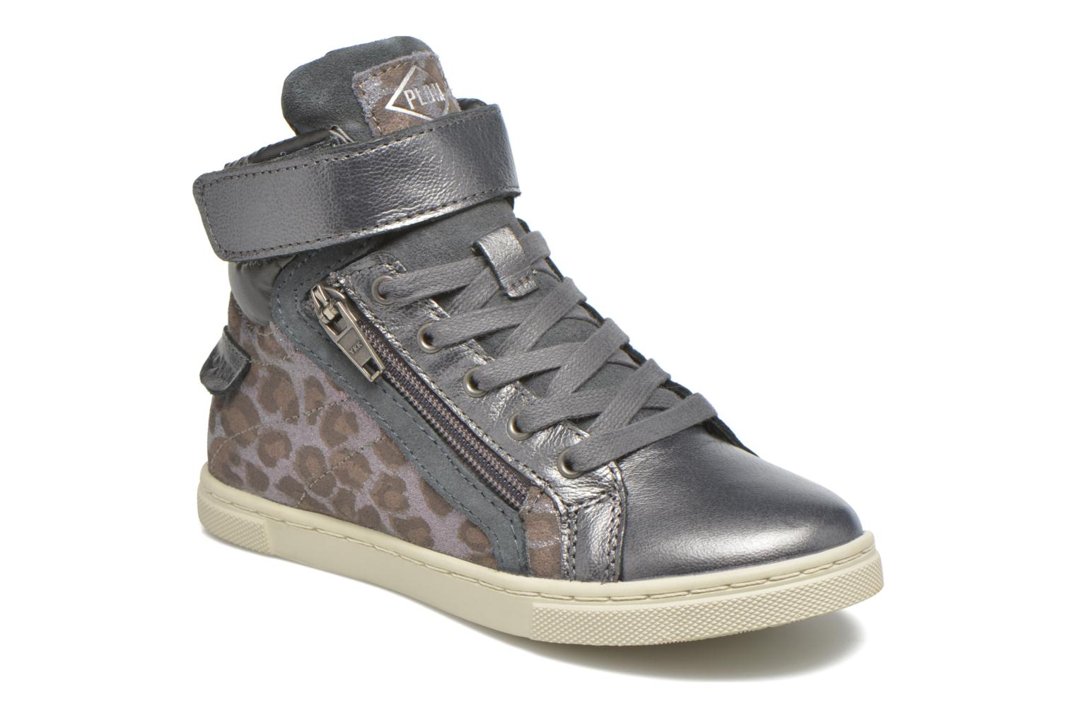 Baskets P-L-D-M By Palladium Veleda Got Leo Gris vue détail/paire